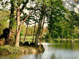 See beim Schloss Monrepos