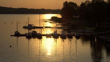 Yachthafen in Morgensonne