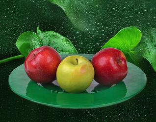 Bild mit Früchte, Frucht, Küchenbild, Apfel, Apfel, Food, Küchenbilder, KITCHEN, Küche