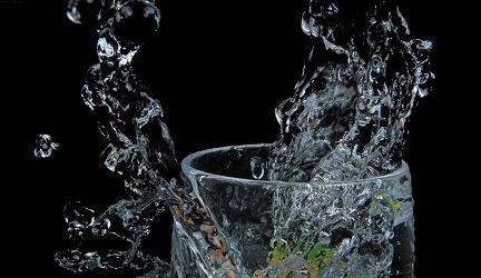 Wasser-Splash
