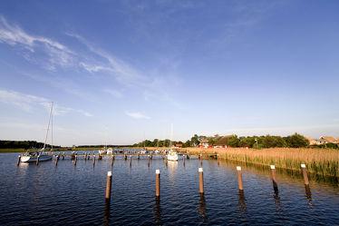Hafen von Prerow