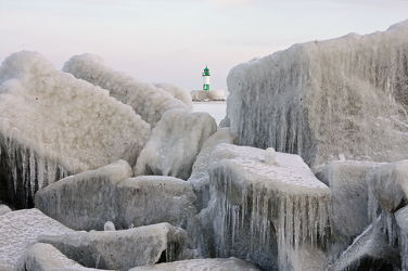 Sassnitz im Winter 2