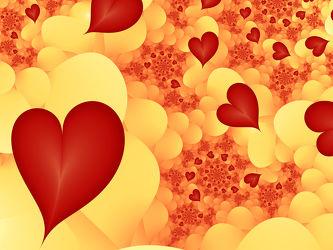 Liebe lässt die Herzen fliegen