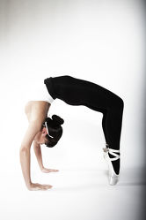 Bild mit Menschen, Akrobatik, Gymnastik, Ballerina