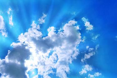 Bild mit Himmel, Wolken, Wolken, Wolkenhimmel, cloud, Sonnenschein, Wolkenstruktur, Wolke