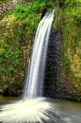 Bild mit Natur, Wasser, Gewässer, Bach, Wasserfall, Waterfall, Bachlauf, Gauleabsturz, Gaule, Pließnitz
