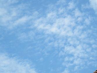 Bild mit Himmel, Wolken, Wolkenhimmel, Sky, Wolken am Himmel, Wolke
