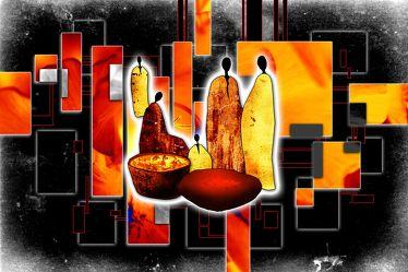 Bild mit Arfika art