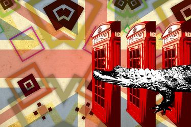 London Panorama Pop art