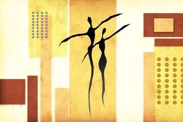Bild mit Art Deco