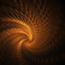 Bild mit Kunst, Spiralen, Meditation, Licht, Retro, Spirale, art, Wärme, Lichter, lichterspiele