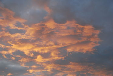 Bild mit Himmel, Wolken, Wolkenhimmel, Wolke, Abendhimmel