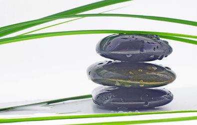 Bild mit Wasser, Bambus, Buddha, Wellness & Stillleben & Objekte, Wellness, Spa, Buddhismus, Relaxen, steinstapel, Steinhaufen, zen