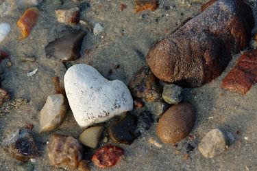Herz am Ostsee Strand