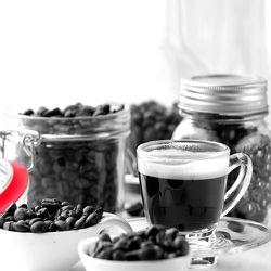 Kaffee Küchen Stillleben