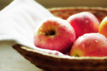 Bild mit Früchte, Lebensmittel, Frucht, Obst, Küchenbild, Apfel, Apfel, Apple, Stillleben, Food, Küchenbilder, KITCHEN, frisch, Küche, Küchen, Kochbild, apples, vegan