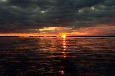 Bilder mit Abend am Meer