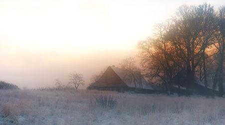 Bild mit Natur, Landschaften, Bäume, Winter, Schnee, Wälder, Nebel, Wald, Baum, Landschaft, Weihnachten, winterlandschaft, Winterlandschaften, Winterbilder, Kälte, Frost, Winterbild, winterwunder