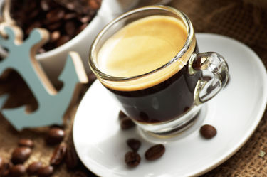 Maritimes Espresso Bild