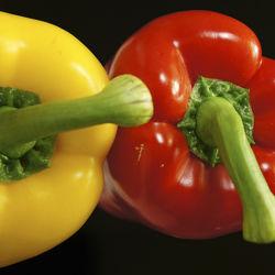 Bild mit Lebensmittel, Gemüse, Küchenbild, Küchenbilder, Küche, Paprika, Paprikas