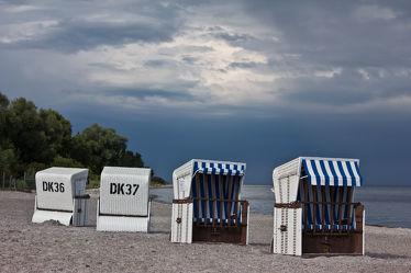 Strandkörbe in Boltenhagen, weiÃ?e Wiek