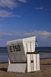 Strandkorb an der Ostsee 2