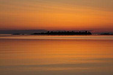 Sonnenuntergang am See 3