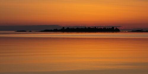 Sonnenuntergang am See 4