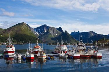 Kutter auf Senja, Norwegen