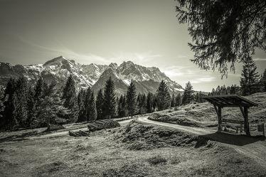 Bild mit Natur, Berge und Hügel, Berge, Urlaub, Sonne, Alpen, Alpenland, Natur und Landschaft, berg, Gebirge, schwarz weiß, SW