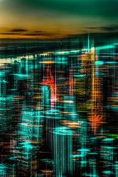 Bild mit Kunst, Architektur, Abstrakt, art, New York, hochhaus, wolkenkratzer, Hochhäuser, NYC