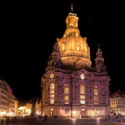 Bild mit Architektur,Gebäude,Städte,Häuser,Brücken,Stadt,Dresden,Frauenkirche,Kirche,Brücke,City,Skyline,Fluss,Elbe,Barock,barocke frauenkirche
