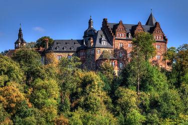 Bild mit Wälder, Herbst, Gebäude, Schlösser, Häuser, Schloss, Wald, Haus, Burg, Mansfeld Südharz, Burgen