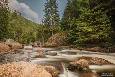 Bild mit Natur,Landschaften,Wälder,Stein,Wald,Steine,Fluss