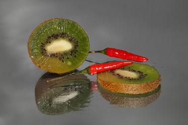 Bild mit Obst