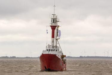 Feuerschiff Borkum Riff auf dem Dollart