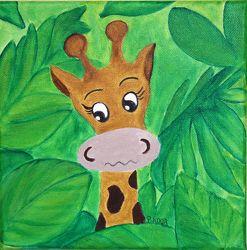 Bild mit Kunst fürs Kinderzimmer