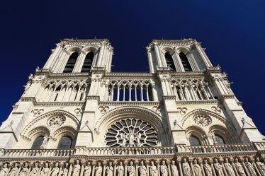 Bild mit Wahrzeichen, Gotisch, Frankreich, Sehenswürdigkeit, Kirche, Reisen, Reisefotografie, Paris, Notre Dame, Kathedrale, Kirchengebäude, Europa