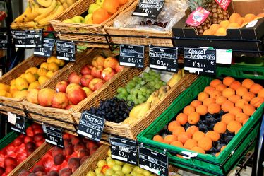 Bild mit Früchte, Lebensmittel, Frucht, Obst, Gemüse, Küchenbild, Stillleben, Küchenbilder, KITCHEN, Küche, Kochbild, Markt