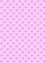 Bild mit Rosa,Herzen,Hintergrund,Kinderzimmer,Muster,Tapete,Hintergründe,pink,Herz,zart,tapetenmuster,kinderzimmertapete