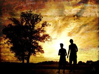 Bild mit Kunst, Menschen, Abstrakt, yammay menschlich, Mensch, Person, Schatten, Silhouette, natur kunst, Personen