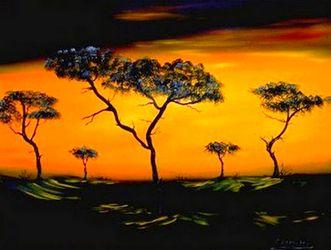 Bild mit Landschaft