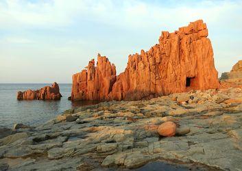 Bild mit Natur, Landschaften, Felsen, Meer, Mittelmeer, Landschaft, Fels, arbatax