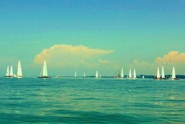 Bodensee - Segelboote