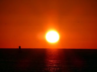 Bild mit Natur, Wasser, Sonnenuntergang, Sonnenaufgang, Sonne, Strand, Meerblick, Meer, Landschaft, Sunset, USA, florida