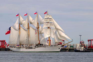 Die Esmaralda auf der Sail 2015