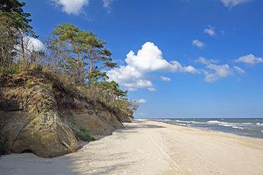 Bild mit Himmel, Wolken, Strände, Strand, Ostsee, Meer, Meer, Küste, Ostseeküste