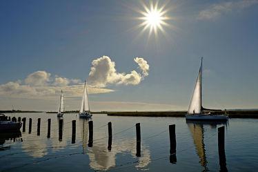 Bild mit Segelboote, Schiffe, Meerblick, Segelboot, Schiff, boot, Meer, Boote, Segel