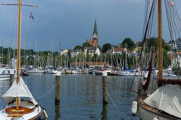 Flensburg an der Förde