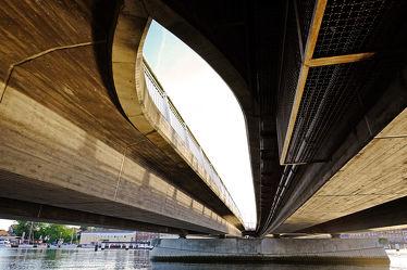 Bild mit Gewässer, Architektur, Eisen, Brücken, Stadt, Brücke, Stahl, Beton, Bauart